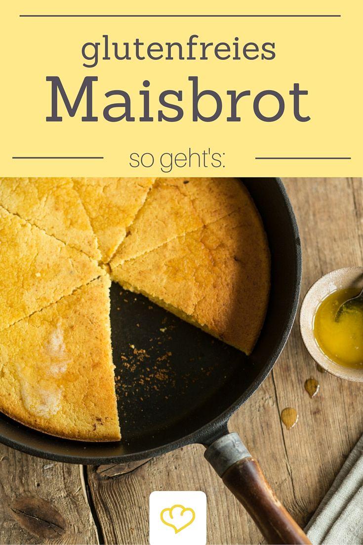 Dieses köstlich-süßliche Maisbrot ist nicht nur glutenfrei sondern auch ruckzuck zubereitet - gerade mal 30 Min muss es in der Pfanne backen.