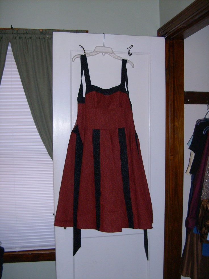 Pinafore Apron commissioned by a friend for her niece.