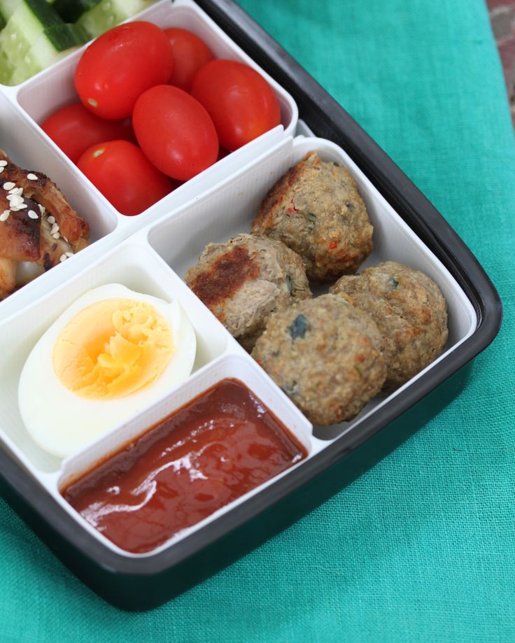 The triple duty meatball, from dinner to lunch box to after school snack. Get them on your menu! Portable food at it's best.