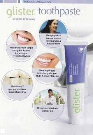 Glister toothpaste