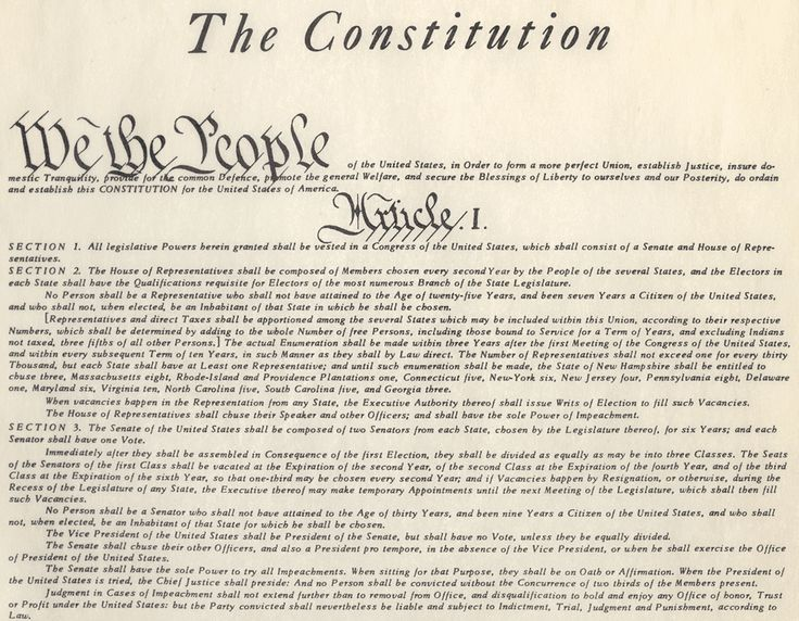 an analysis of the united states constitution and the bill of rights Start studying us constitution review learn vocabulary  what are the bill of rights we the people of the united states.