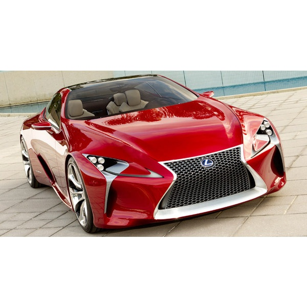 Gadgets and Technology News - Lexus Shows Off LF-LC Sports Coupe via Polyvore