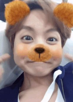If ever you're having a bad day, have a cute Hobi......