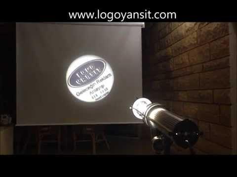 Logo Yansit iç Ortam Dönen Logo Yansıma Videosu - YouTube