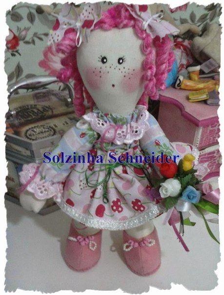 Выкройка куколки от Solzinha Schneider. Обсуждение на Блоги на Труде