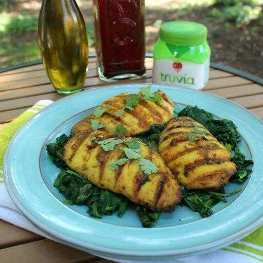 Cilantro  and Mango Chicken