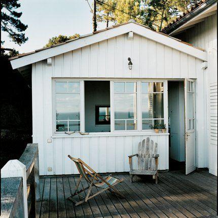 La cabane de jardin en acier | via Marie Claire Maison