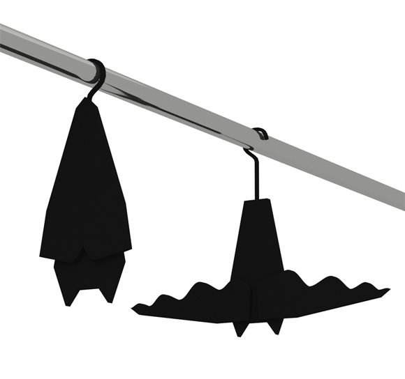 These unusual and creative Batman clothes hangers were conceived by designer Veronika Paluchova. They are so funny thatBatman fans willsoon find yourselves hooked.