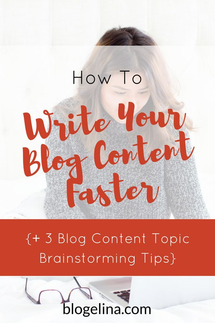 Are you a blogger or infopreneur who wants to create quality content FASTER? This tutorial includes exactly what to do in order to brainstorm great content ideas, and write your blog posts faster! Click through to read the whole post!