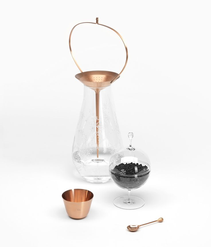 formafantasma designs water purification crystal collection for J.& L. lobmeyr
