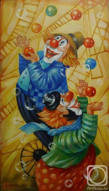 Панина Кира. Цирк,да и только...!