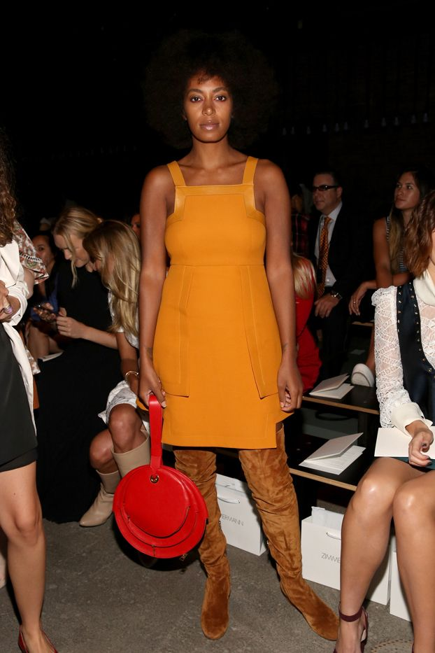 Celebrity Outfit Ideas Straight From New York Fashion Week via @WhoWhatWearUK