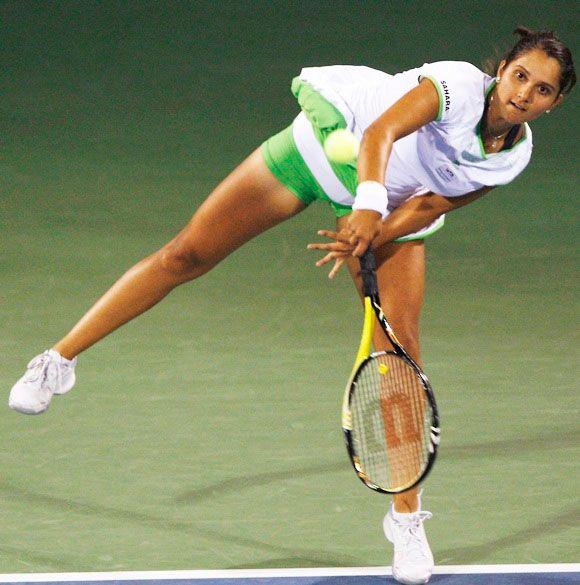 Sania Mirza, Tennis - original pin-up girl of Indian sport.