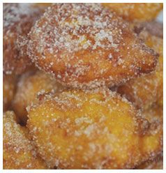 Pumpkin Fritters | Huletts Sugar - tonights dinner, served with something...