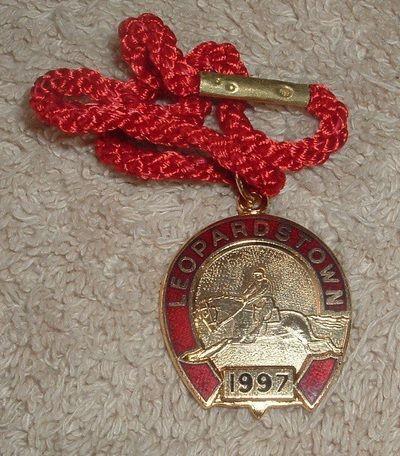 Annual badge - Leopardstown 1997