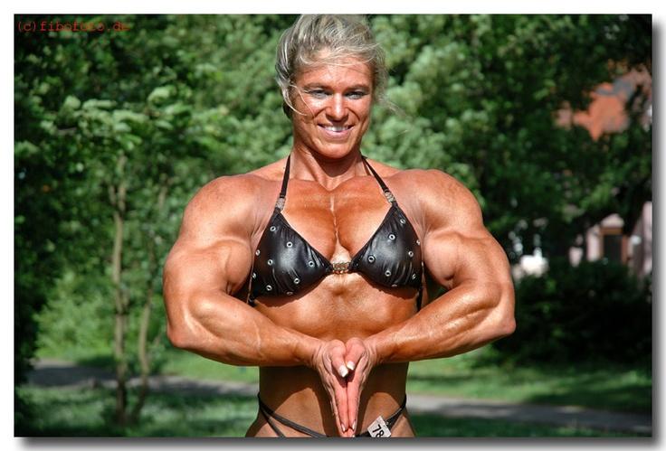 #3 - Cornelia Brandt #female #muscle