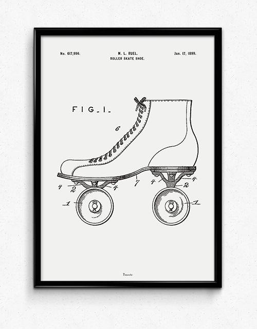 Roller Skate - Available at www.bomedo.com