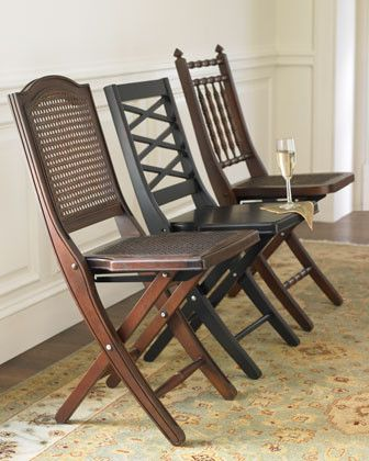 Wood Folding Dining Chairs