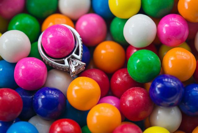 The Bubblegumand Chocolate Game We've all been there. You arrive to a bridal shower and