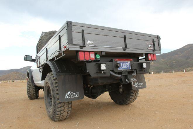 015 2015 AEV Prospector Dodge Ram 2500 Diesel Flat Bed Rear View