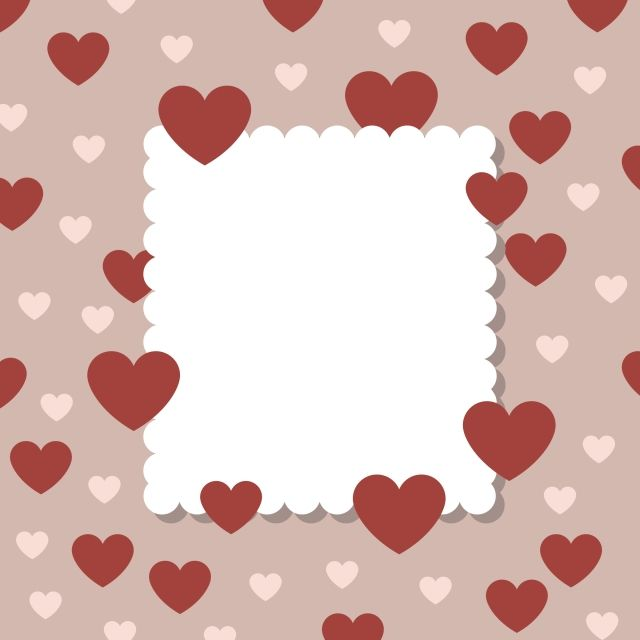 Blank Valentine Day Flyers Templates Free