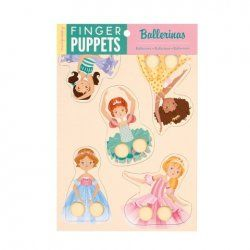 Little Boo-Teek - Stocking Fillers Mudpuppy Finger Puppets -   Ballerina $11.95 www.littlebooteek.com.au #littlebooteek #christmas #stockingfillers #presents #kids #baby