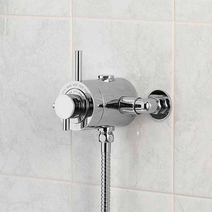£129 Victoria Plum Orchard Minimalist exposed thermostatic shower valve | VictoriaPlum.com