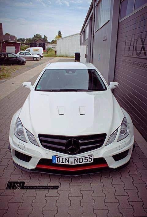 Mercedes E-class coupe
