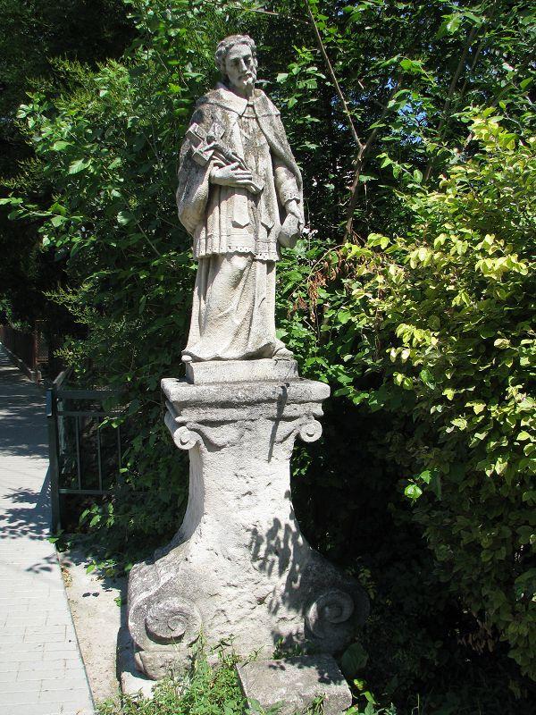 Nepomuki Szent János szobor (Tabajd) http://www.turabazis.hu/latnivalok_ismerteto_5052 #latnivalo #tabajd #turabazis #hungary #magyarorszag #travel #tura #turista #kirandulas