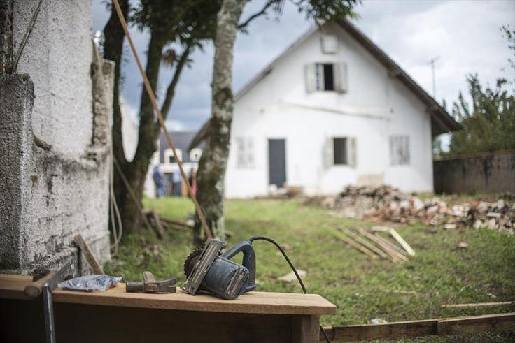 Arquivo - Começam as obras na Casa Kozak - Álbum - Prefeitura de Curitiba. Casa da Leitura Wladmir Kozak, no bairro Uberaba. Foto: Gabriel Rosa