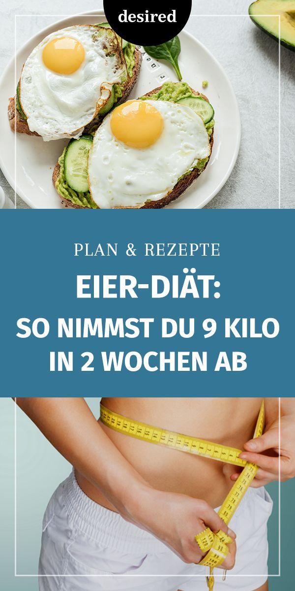 Eier-Diät: Plan & Rezepte zum Abnehmen