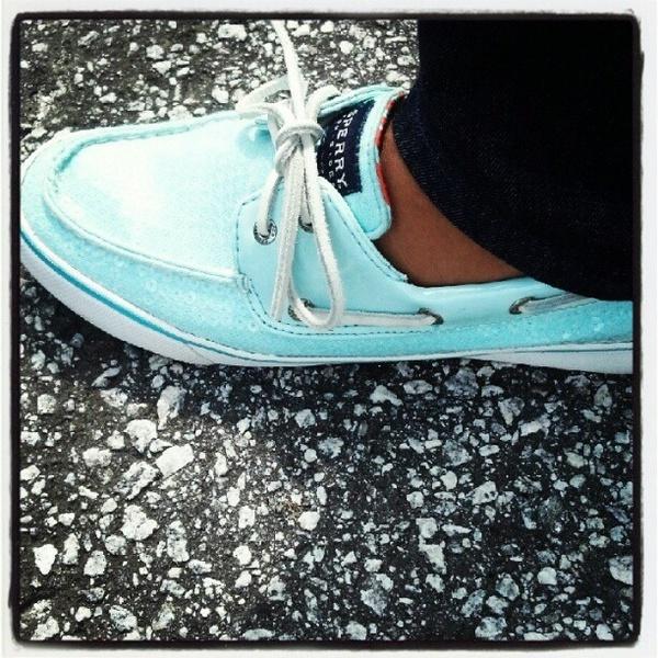 Tiffany Blue Sperrys    i wantt!