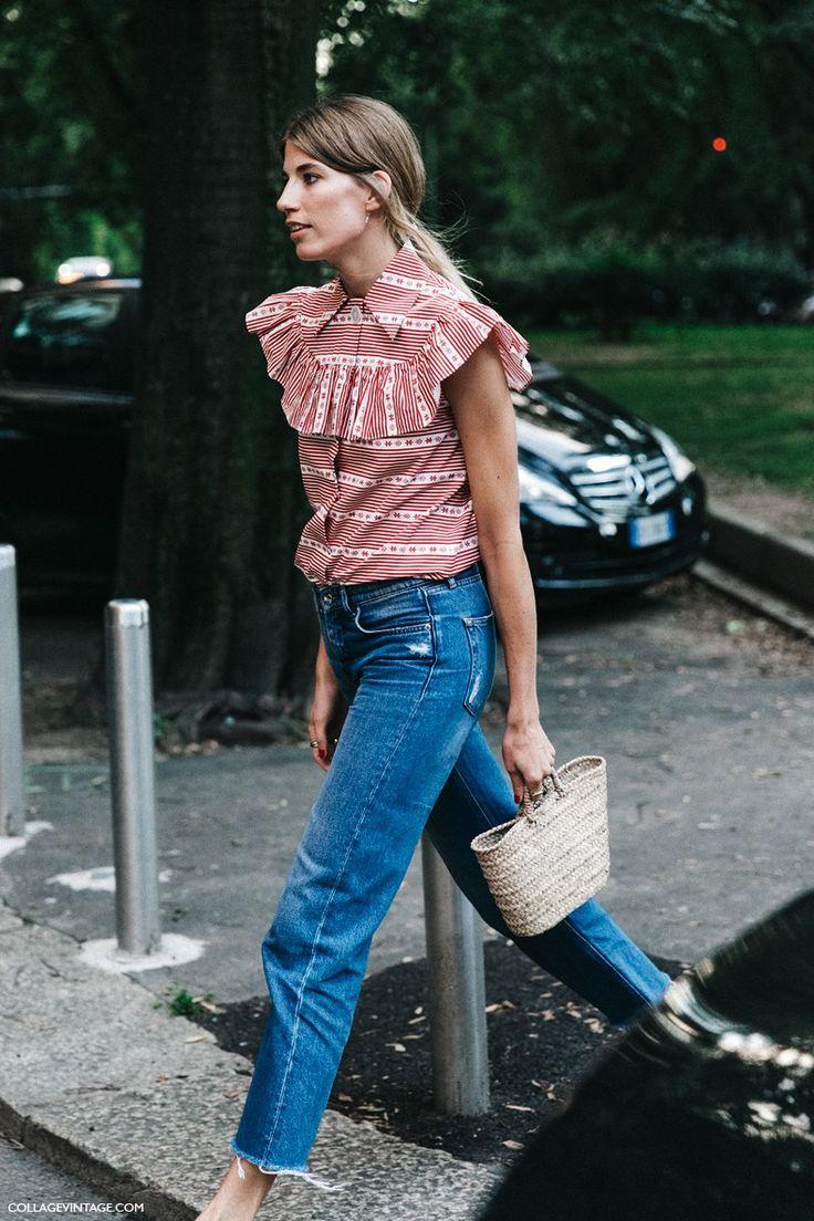 MFW-Milan_Fashion_Week-Spring_Summer_2016-Street_Style-Say_Cheese-Veronika_Heilbrunner-Miu_Miu_Blouse-Jeans-Clogs-2