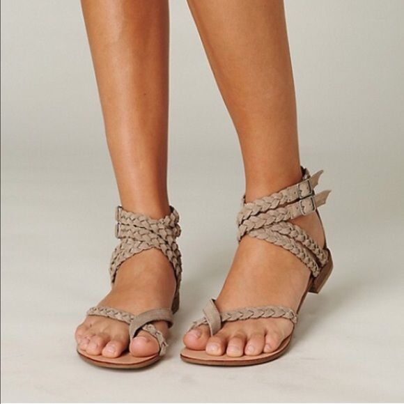 ISO Dolce Vita Braided Sandals I really need your help ladies! I'm searching for Dolce Vita Braided Sandals in Desert! If you have these or know of someone that does, please tag me!! I need them in a 7.5!  Dolce Vita Shoes Sandals