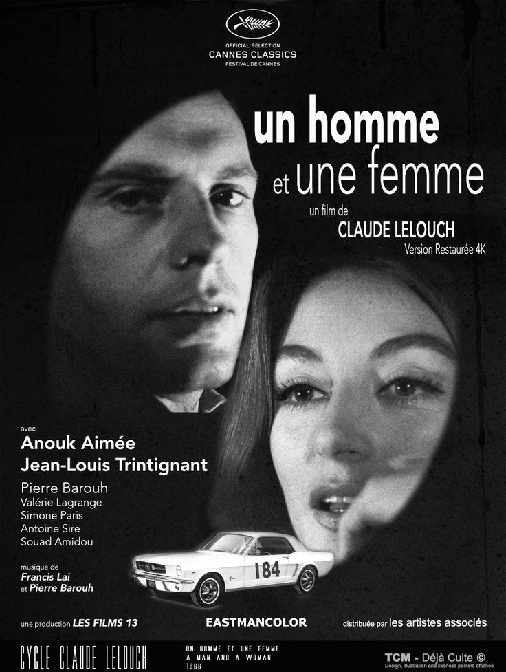 Un Homme Et Une Femme (A Man And A Woman) 1966 Claude Lelouch Anouk Aimée Jean-Louis Trintignant Pierre Barouh Valérie Lagrange Simone Paris Antoine Sire Yane Barry Souad Amidou #UnHommeEtUneFemme #AManAndAWoman #ClaudeLelouch #AnoukAimée #JeanLouisTrintignant #PierreBarouh #ValérieLagrange #SimoneParis #AntoineSire #YaneBarry #SouadAmidou #FestivalDeCannes #FordMustang #MoviePoster