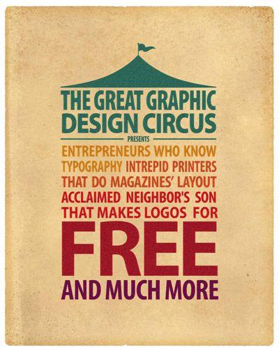 The Great Graphic Designer Circus
