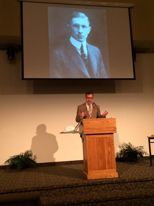 Banting House Curator, Grant Maltman, speaking about Sir. Frederick Banting.