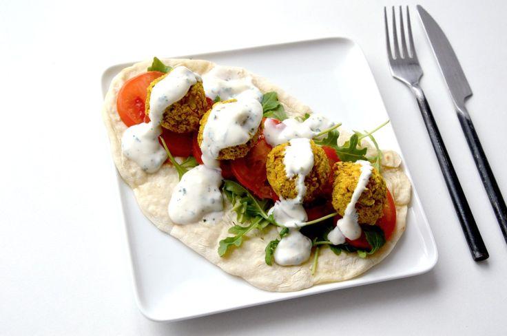 Les falafels, c'estsouvent l'un des plats préférédes végétariens / végétaliens. Elles se déclinent facilement (en wrap, avec un plat de pâtes façon «meat balls&raquo…