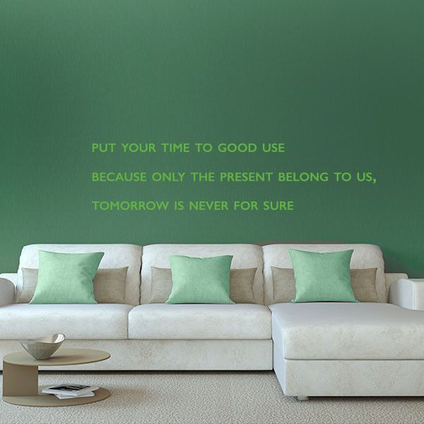 Best Quotes Wall Decals Images On Pinterest Quote Wall - How do i put on a wall decal