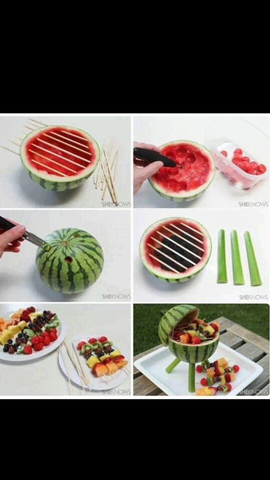 BBQ fruit salad :)