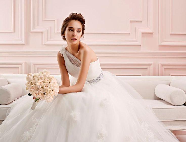 Wedding dress Blue by Chrysalis.