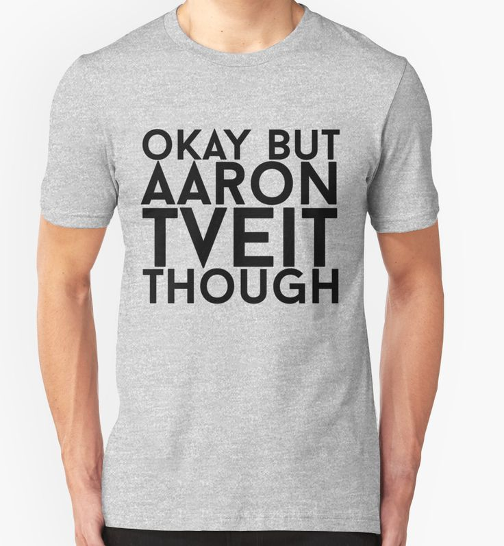 "Aaron Tveit"" T-Shirts & Hoodies by eheu 