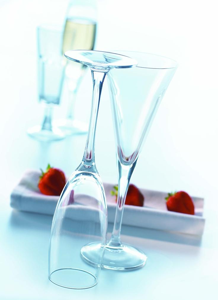 Arcoroc : les coupes à Champagne
