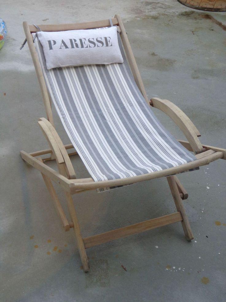Les 25 meilleures id es concernant chaise de plage sur for Chaise longue jardin aldi