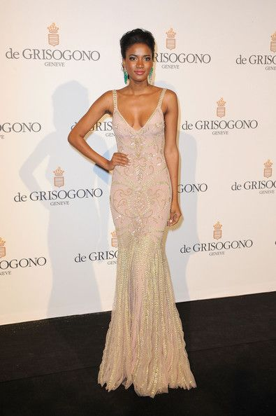 Leila Lopes Leila Lopes attending the De Grisogono party during the 65th Cannes International Film Festival at Hotel Du Cap in Cannes.