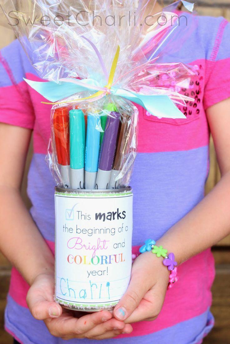 Teacher Gift - Sharpie Markers