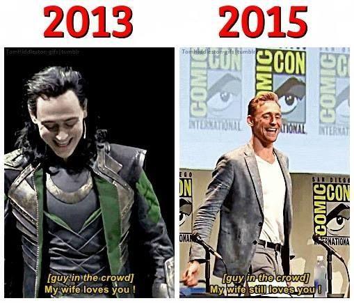 Tom Hiddleston at SDCC