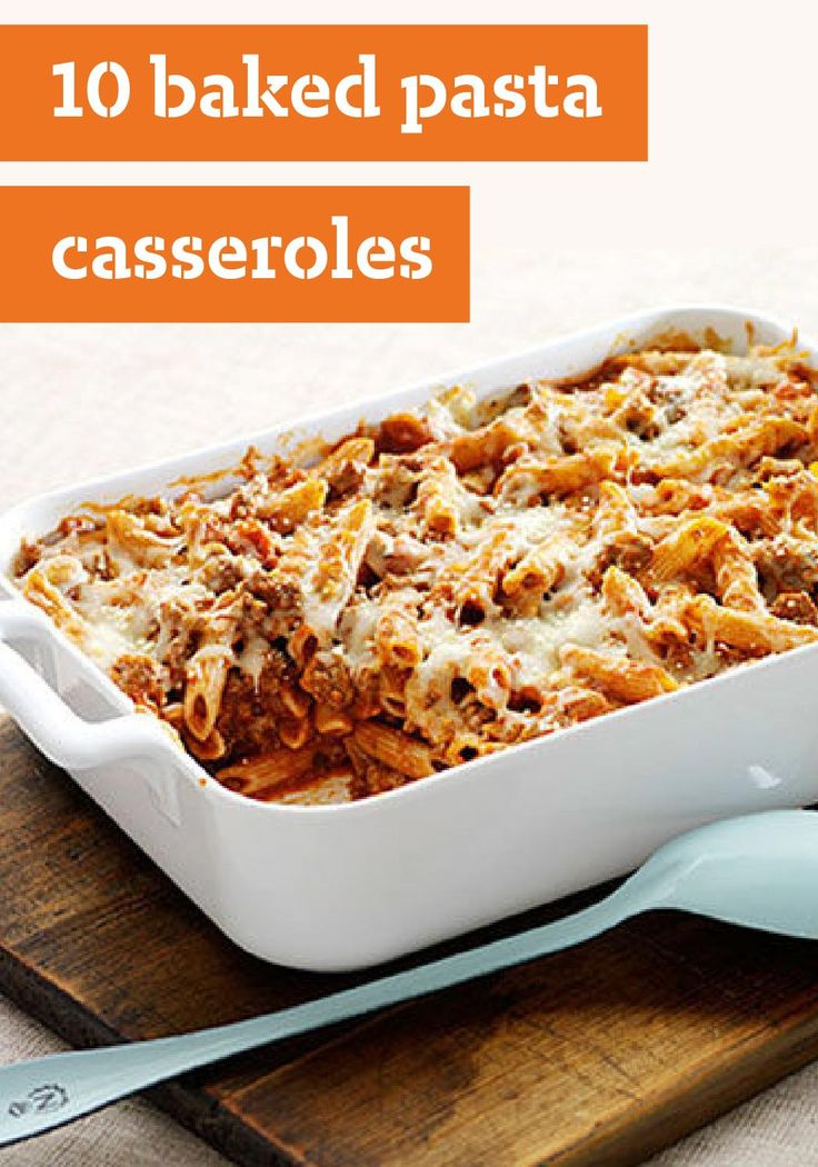 Pasta casserole, Casseroles and Recipes dinner on Pinterest