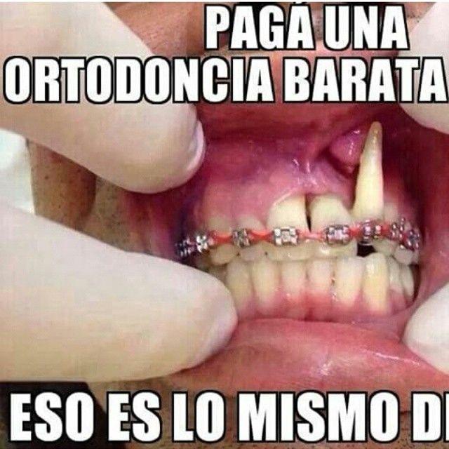 """""""Paga una ortodoncia barata. Eso es lo mismo! La manicurista de la esquina pega los brackets igualito!!!! Y baratisimo!!!!! Y yo te pongo las ligas del color que tu quieras todos los dias! """" dicen  La #Ortodoncia requiere planificación para corregir los problemas, no agravarlos"""