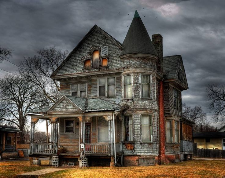 Old Farm House - inspiration for haunted house. Description from  pinterest.com. I